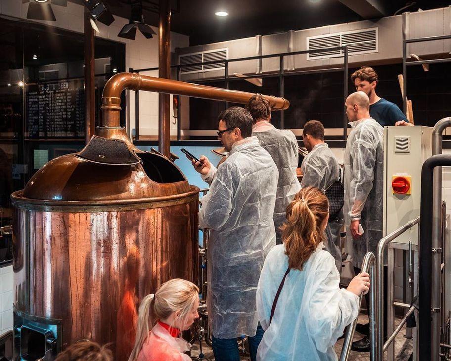 Экскурсии по пивоварне-контрактной мастерской «Пивмастерия 17м»