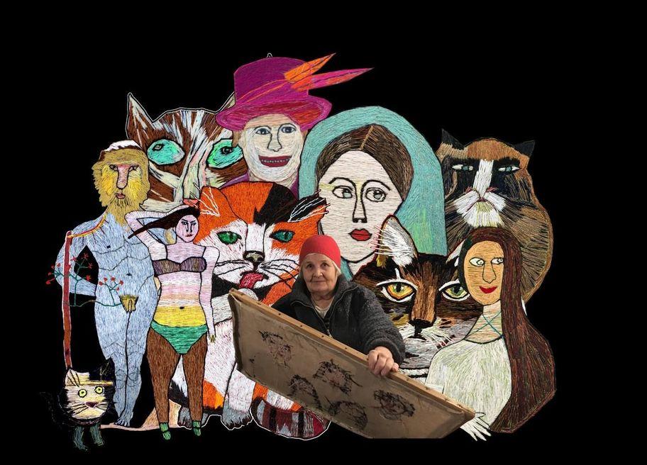 Выставка Юлии Алёшичевой «Удиви меня, вышивка!»