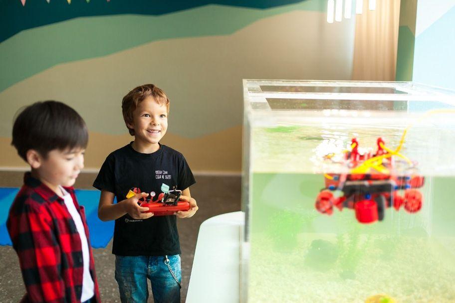 Занятие по водной робототехнике от Океаники | 6+